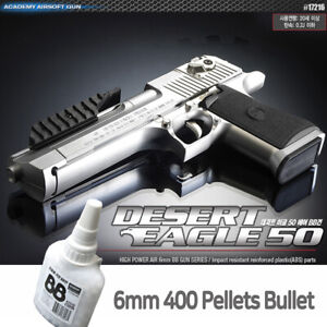 Academy-Desert-Eagle-50-Pistol-Airsoft-6mm-BB-Shot-Gun-Military-Kit-17216