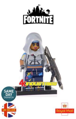 Teknique Mini Figure Legendary Epic Skins Battle Royale Video Game UK Seller