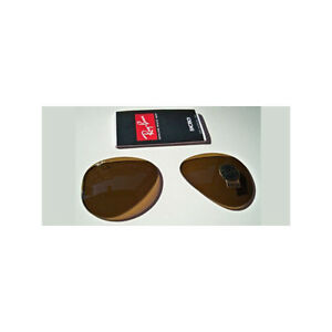 a94f919950 LENSES SPARE PART RAY BAN 3025 55 AVIATOR LARGE B15 BROWN SUNGLASSES ...
