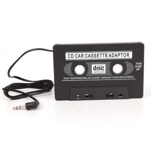 3-5mm-Jack-Stereo-to-Car-AUX-Audio-Cassette-Tape-Adaptor-Adaper-Converter-FJ