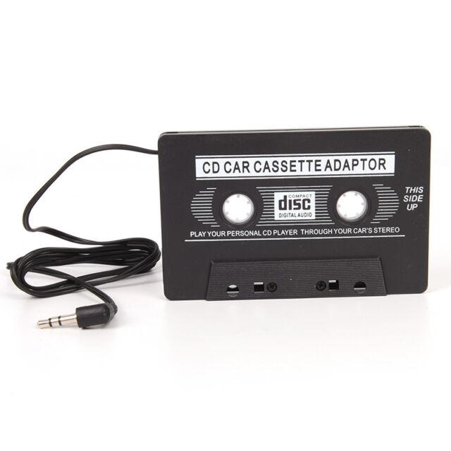 3.5mm Jack Stereo to Car AUX Audio Cassette Tape Adaptor Adaper Converter HU