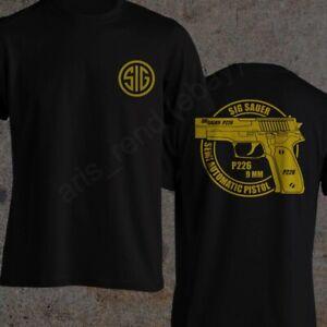 Sig Sauer P226 Shirt Firearms 9mm Semi Automatic Pistol T-Shirt