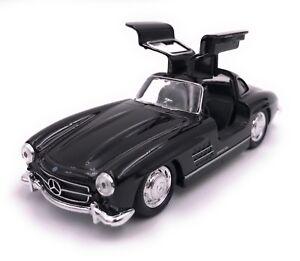 Mercedes-Benz-300-SL-Modellauto-Auto-LIZENZPRODUKT-1-34-1-39-versch-Farben