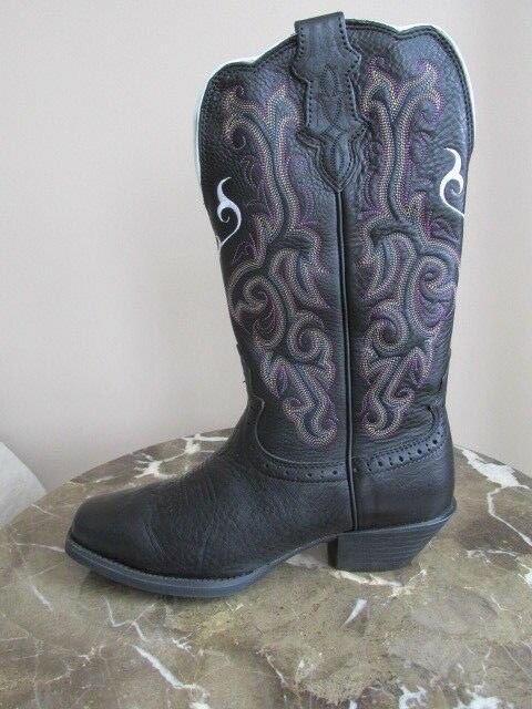 fefea4020e0 NEW Justin Western Boots Women s Stampede Collection Size 7 Boot Square Toed