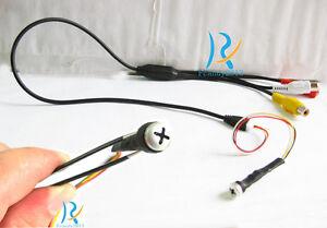 New-Spy-Screw-1000TVL-Popular-HD-mini-hidden-pinhole-micro-Smallest-color-Camera