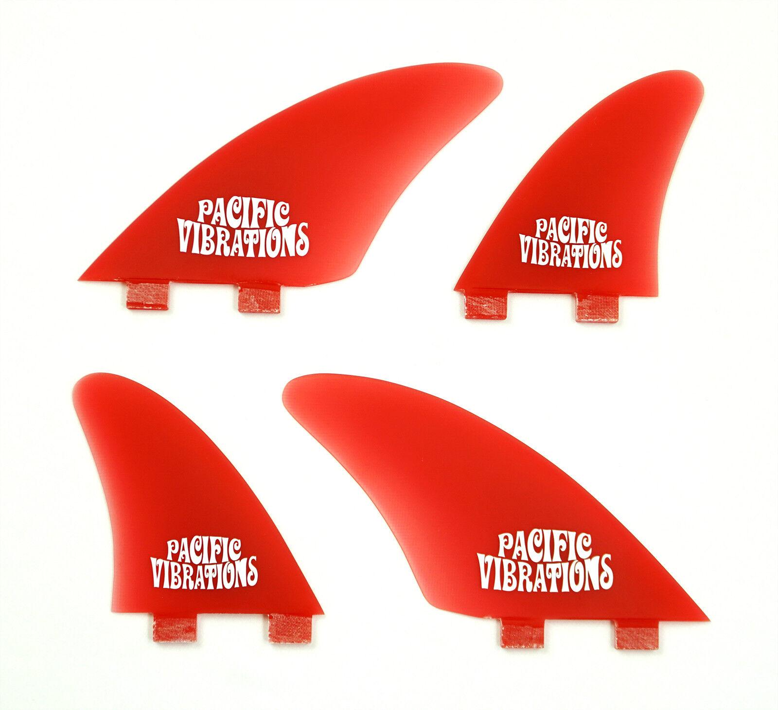 Pacific Vibrations Planche de Surf Palmes Fcs Contrôleur Quad Gabarit Fibre
