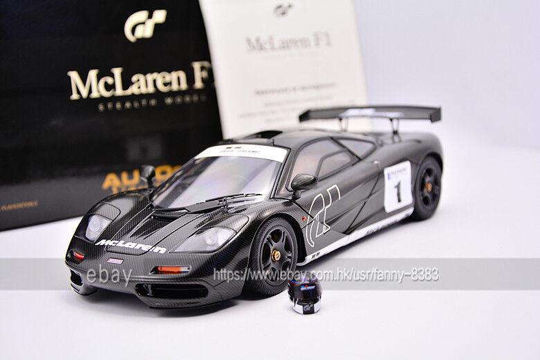Autoart 1 18 McLaren F1 GT5 mclaren  Game version