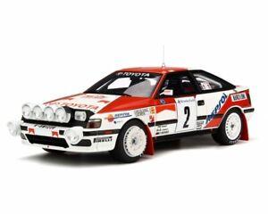 1:18 Otto Toyota Celica GT-4 ST165 Rallye Monte Carlo 1991 Sainz OT239 NEU NEW