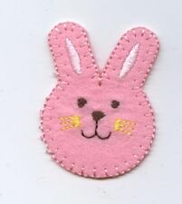 Pot Smoking Pals FUNNY BUNNY RABBIT Iron on Embroidered Patch Applique New Gift