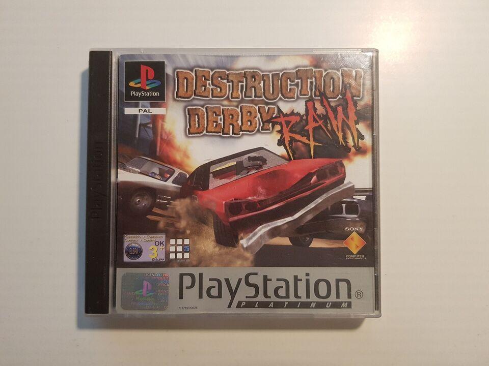 Destruction Derby Raw, PS