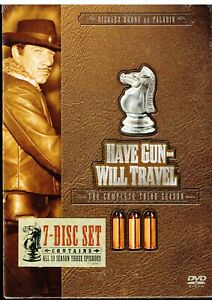 Have-Gun-Will-Travel-The-Complete-Third-Season-DVD-2006-7-Disc-Set-NEW-SS