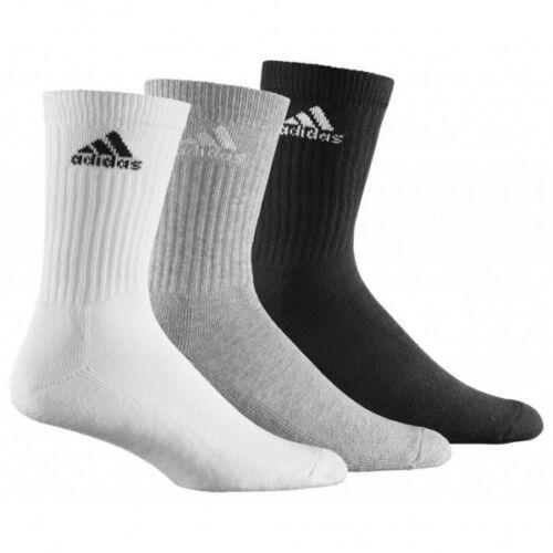 Adidas Damen Herren Socken Adicrew HC Tennissocken Strümpfe 3er Pack AA2299 NEU