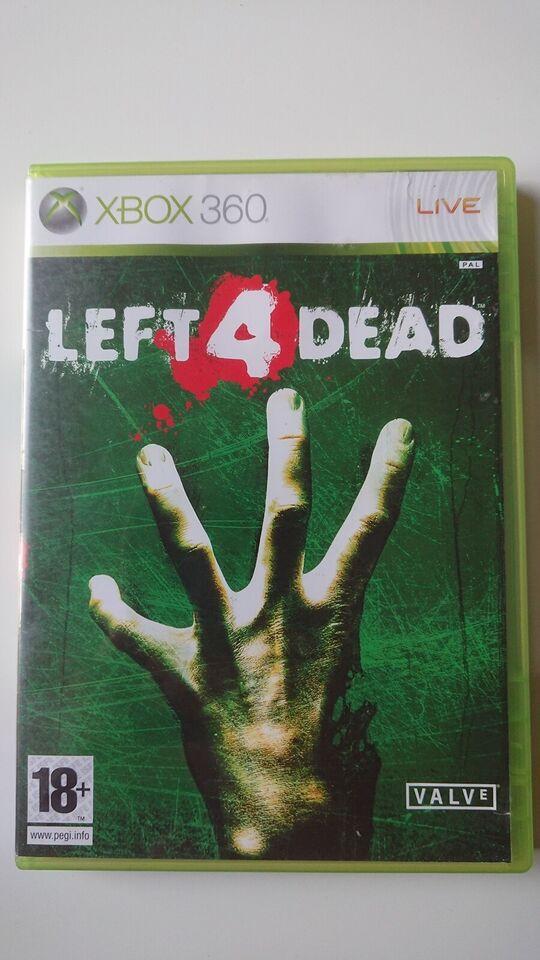 Left 4 dead, Xbox 360