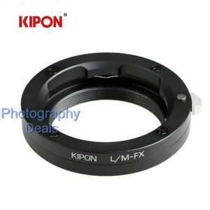 Kipon-Adapter-for-Leica-M-L-M-Mount-Lens-to-Fujifilm-Fuji-X-X-T30-PRO2-H1-Camera