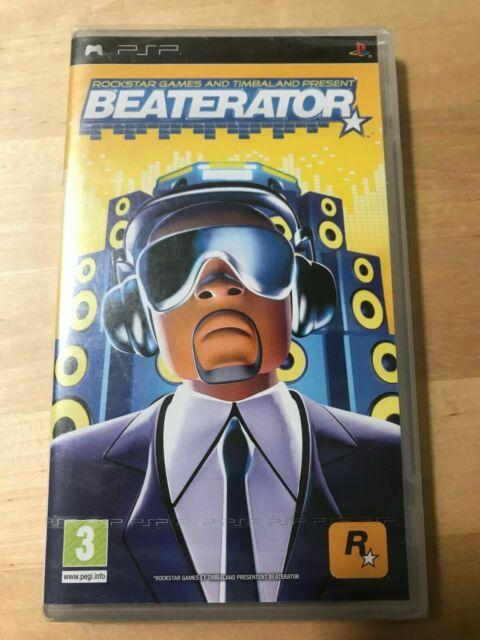 beaterator psp rockstar games timbaland version francaise neuf sous cellophane