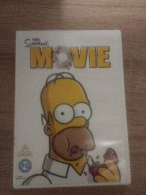 The Simpsons Movie Dvd Genuine Uk Region 2 Dvd Ebay