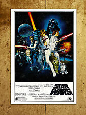 Metal Sign Retro A4 Star Wars poster image decorative tin wall door plaque gift