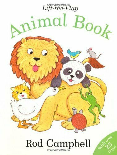 Lift-the-Flap Animal Book by Campbell, Rod Paperback Book The Cheap Fast Free