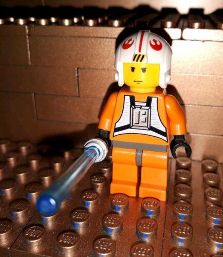 Lego Star Wars Figur Luke Skywalker mit Waffe Laserschwert 4483 4500 7130 7140