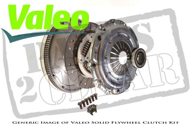 Renault Megane 1.9 Dci Solid Flywheel Clutch Kit Valeo 130 Mk2 05.2005 - On