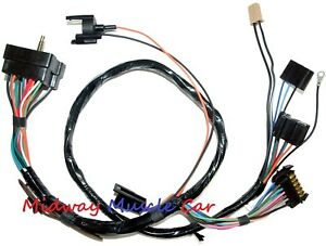 Details about dash instrument cluster wiring harness 70 71 Chevy Camaro on