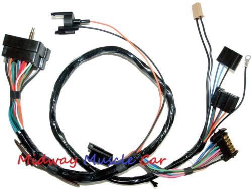 dash instrument cluster wiring harness 1972 Chevy Camaro ss rs//ss z//28