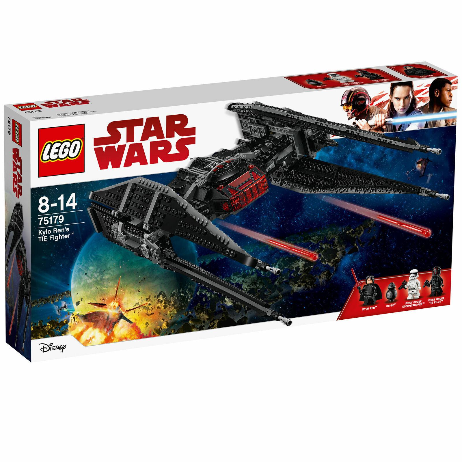 LEGO 75179 estrella guerras kylo REN'S TIE FIGHTER  2017  popolare