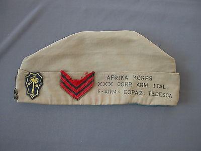 Acquista A Buon Mercato Berretto Bustina Marconista Afrika Korps Xxx Corp Arm Ital 5 Arm Coraz Tedesca Crease-Resistenza