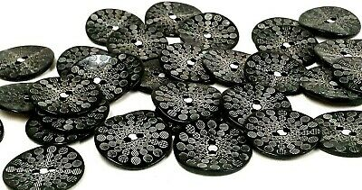 Natural Shell Flower Shaped Buttons 11mm and 15mm Choice of Pack Sizes