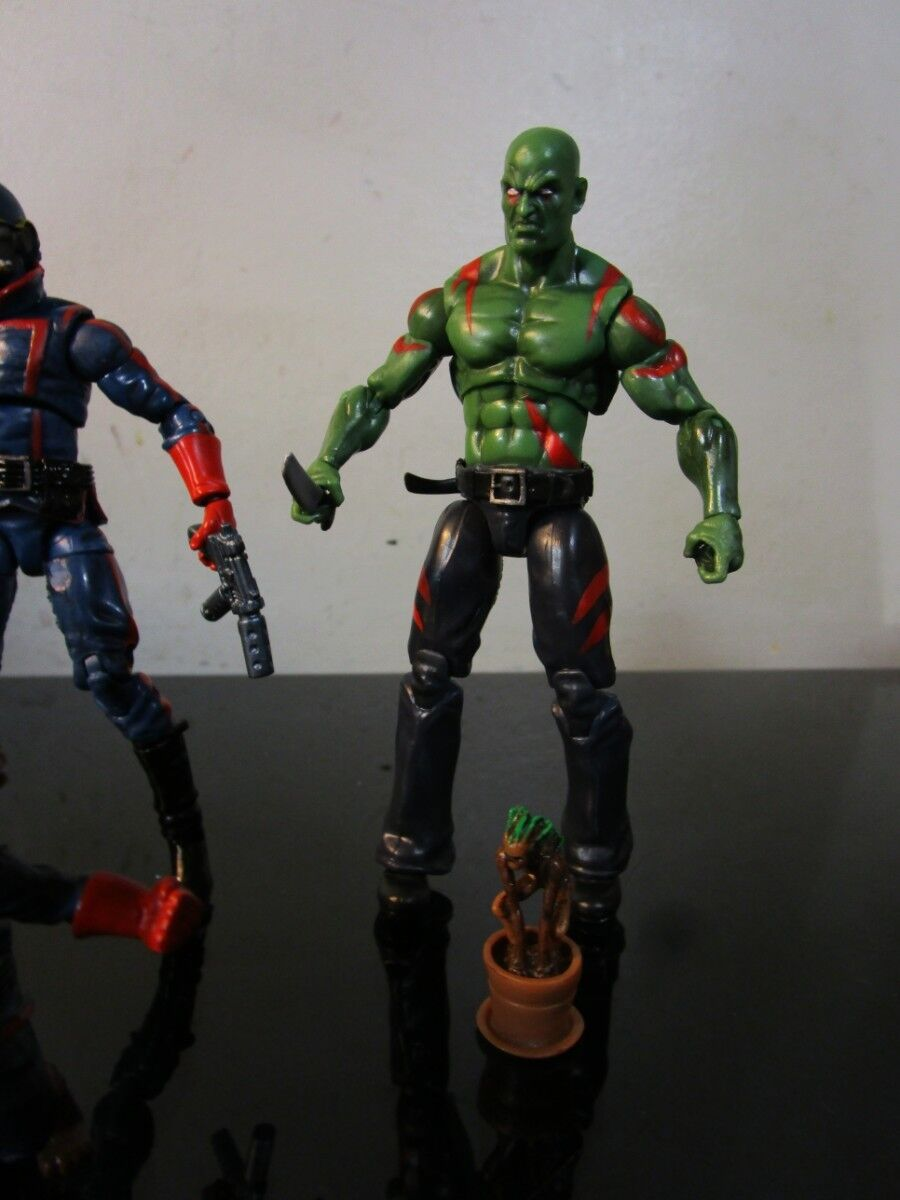 Marvel Legends Guardians of the Galaxy Galaxy Galaxy  3.75  Universe LOT f4100a