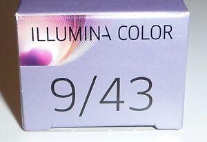 image is loading wella illumina color 9 43 light blonde red - Coloration Illumina