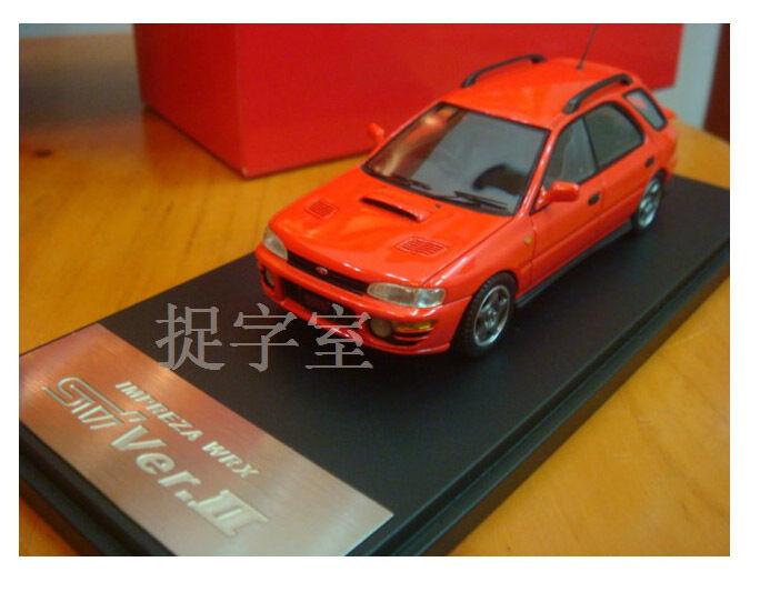 1 43 Hand-made Subaru Impreza WRX STI Ver.II Model