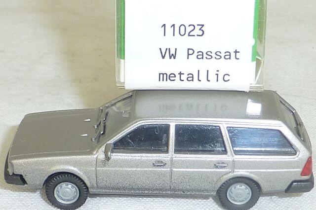 VW PASSAT BJ 1981 PLATA METÁLICO Imu / EUROMODELL 11023 H0 1:87 emb.orig #3# GA