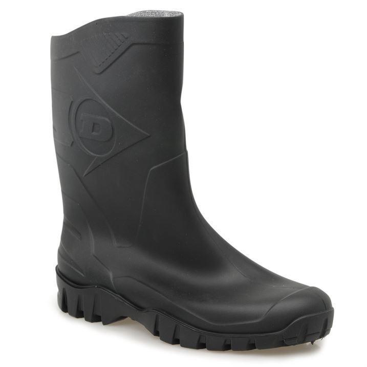 Dunlop Mens Genst Wellies Half Welly Wellies Genst Wellington Boots 181309