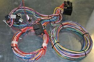 universal 12 circuit wiring harness universal new 12 circuit wiring harness hot rod rat rod universal fits chevy on universal 12 circuit