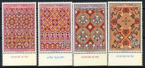 Marokko-1968-Mi-624-627-Postfrisch-100-Kunsthandwerk-Handwerker
