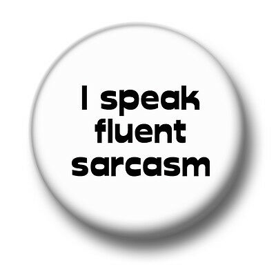 1 Inch 25mm Pin Button Badge Goth Emo Insult Sarcasm Fun And Your Problem Is