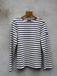 Breton Shirt by Saint James – Meridien Moderne Cream & Navy / Ecru & Marine