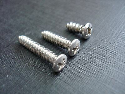45 pcs #8 with #6 stainless phillips oval head garnish trim screws fits Ford