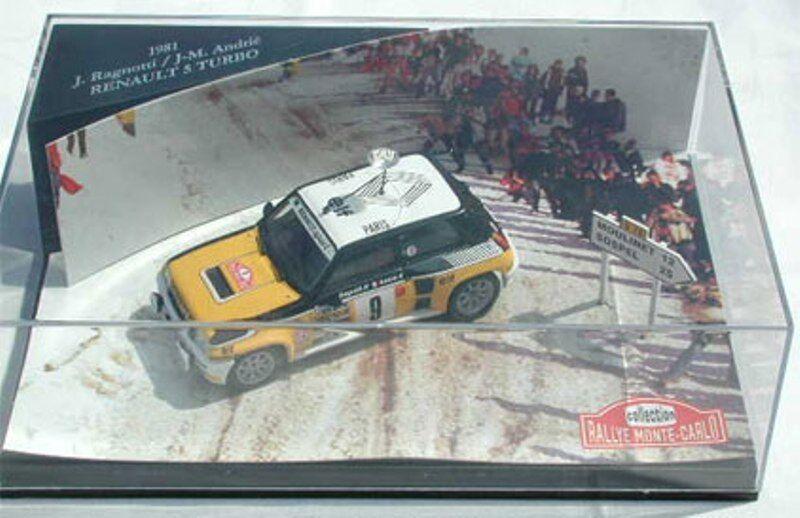 SKID various diecast model Rally cars WRC Toyota Mitsubishi Renault 5 Turbo 1 43