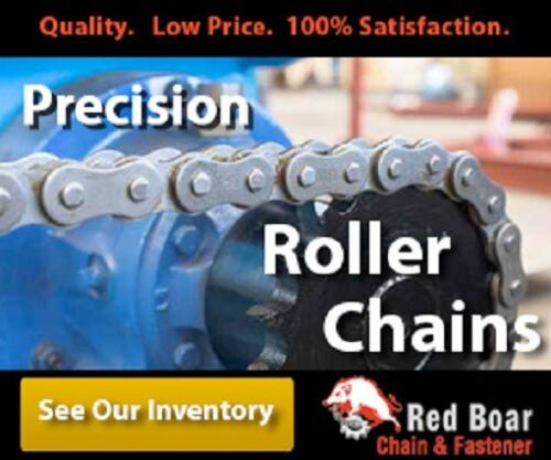 """50BB17H-1//2/"""" Bore Idler Sprocket w// insert bearing 203KRR2 for #50 Roller Chain"""