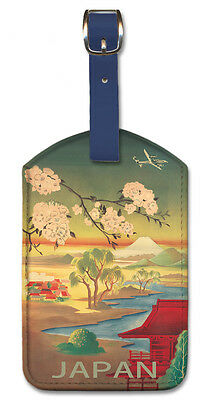 2 Pack Luggage Tags Mount Fuji Handbag Tag For Travel Tags Accessories