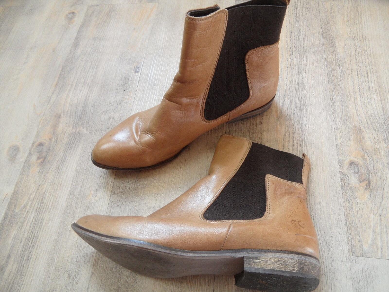 Post Exchange geniales chelsea botas beige talla 42 top kos318