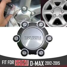 Isuzu Dmax Rodeo D-Max Mu-x 2012-2015 Genuine OEM 6 Holds Grey Cover Cap Wheel