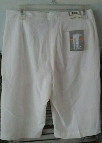 witte Nieuwe Ivoor pagina stijl shorts Bermuda 8 Tuttle dames 7wza6q