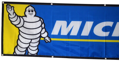 Michelin Flag Tires Tyres 2x8ft banner