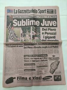 GAZZETTA-DELLO-SPORT-27-NOVEMBRE-1996-JUVENTUS-CAMPIONE-DEL-MONDO-DEL-PIERO