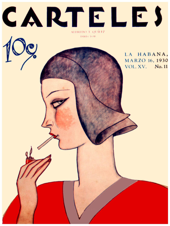 365.Quality Deco poster Fabulous girl lights Cigarette Home interior design art