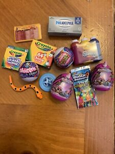 MINI BRANDS MISCELLANEOUS LOT TOYS AND FOOD