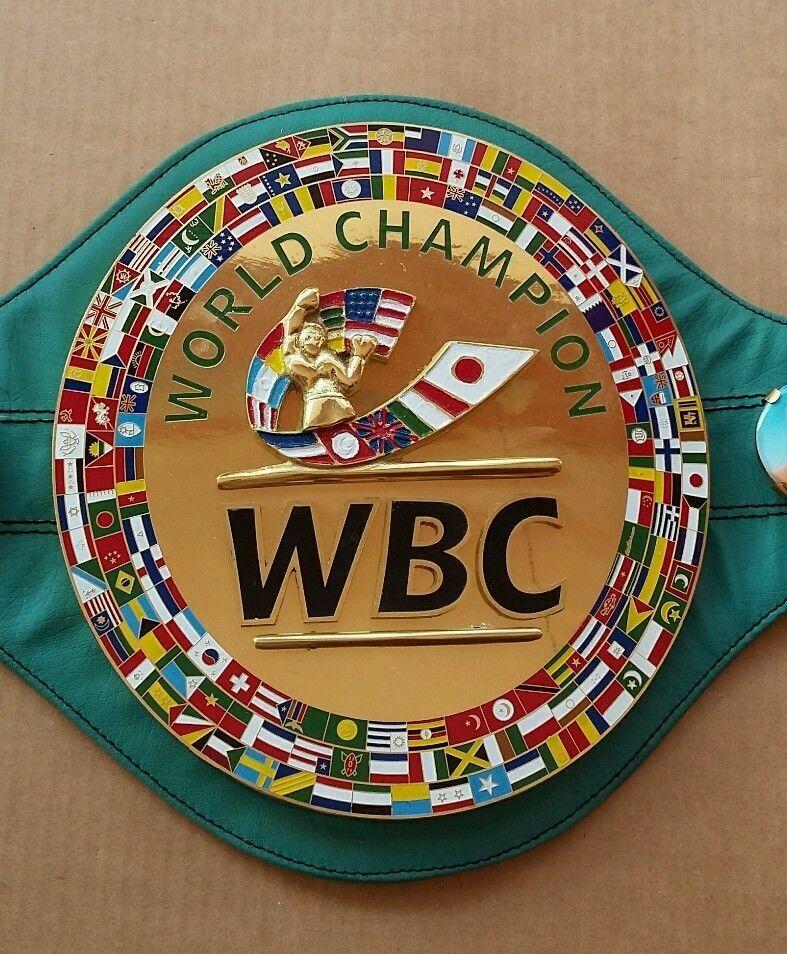 Brand New WBC Championship Boxing Belt 3D Adult Size Belts